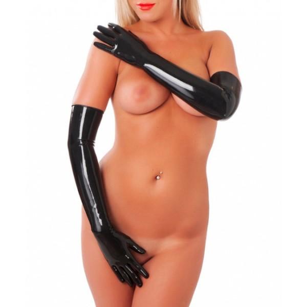 Rimba Rubber Secrets Long Gloves