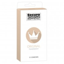 Secura Kondome Original Transparent x12 Condoms