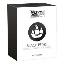 Secura Kondome Black Pearl Condoms - 100 Pack