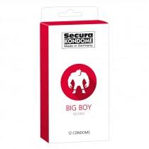 Secura Kondome Big Boy Condoms - 12 Pack