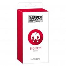 Secura Kondome Big Boy Condoms - 24 Pack