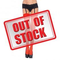 Leg Avenue Sheer Stockings Red