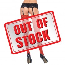 Leg Avenue<br /> Sheer Stockings<br /> with Backseam Red