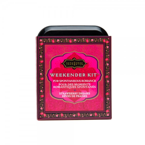 Kama Sutra Weekender Kit In A Tin Strawberry Dreams