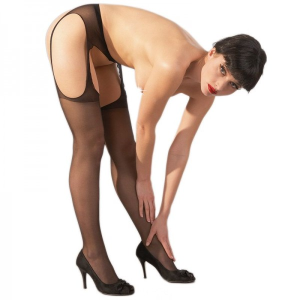 Cottelli Collection Sex Tights Black