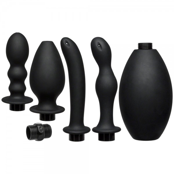 Kink Flow Full Flush Anal Douche And Accessories