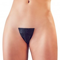 Cottelli Adhesive Invisible G-String Black