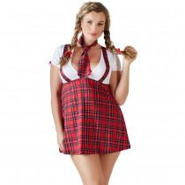 Cottelli Collection School Girl Uniform Plus Size