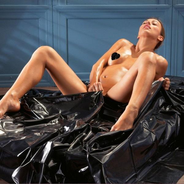Orgy Bedsheets Black