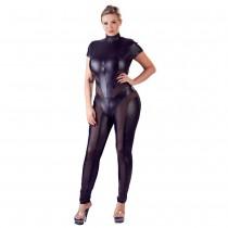 Cottelli Collection Jumpsuit with Net Plus Size