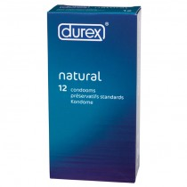 Durex Natural x 12 Condoms