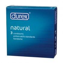 Durex Natural x 3 Condoms