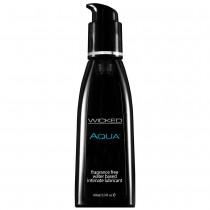 Wicked Aqua Fragrance Free Lubricant 60mls