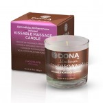DONA<br /> Kissable Massage Candle<br /> Chocolate Mousse 135g