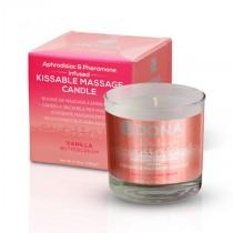 DONA Kissable Massage Candle Vanilla Buttercream 135g