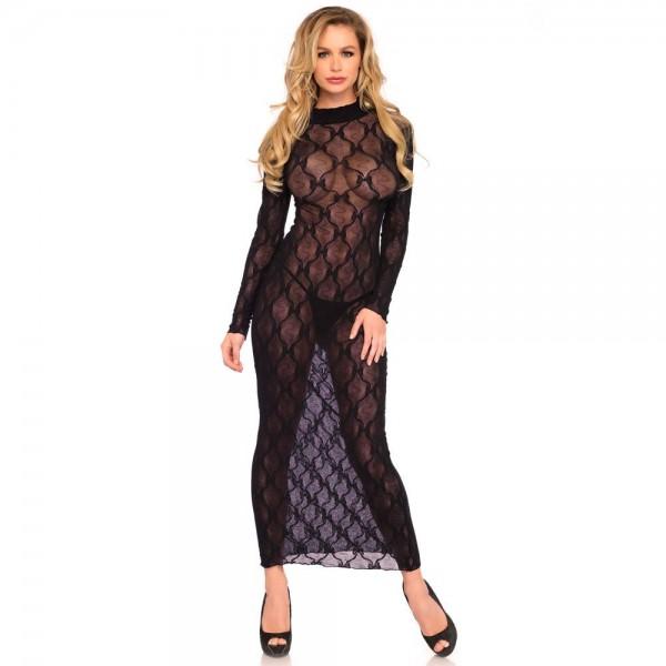 Leg Avenue Long Sleeved Long Dress
