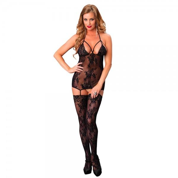 Leg Avenue Lace Suspender Bodystocking