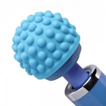 Wand Essentials Blue Massage Bumps Attachment