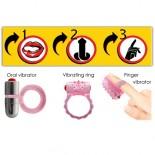 3Way Tongue Joy<br /> Oral Microvibe Kit