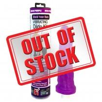 Clone A Willy Neon Purple Silicone Vibrator Kit