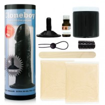 Cloneboy<br /> Cast A Dildo With Suction<br /> Cup Kit - Black