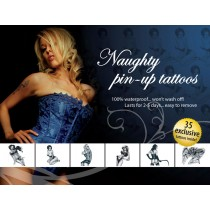 Tattoo Set Naughty Pin Up