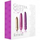 Rocks Off<br /> Feranti Glitter<br /> Glitz Bullet Set