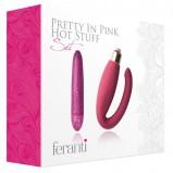 Rocks Off Feranti Pretty In Pink Hot Stuff Set