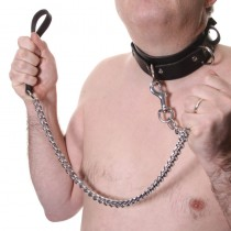 House Of Eros Large Mens Collar And Heavy Chain Lead