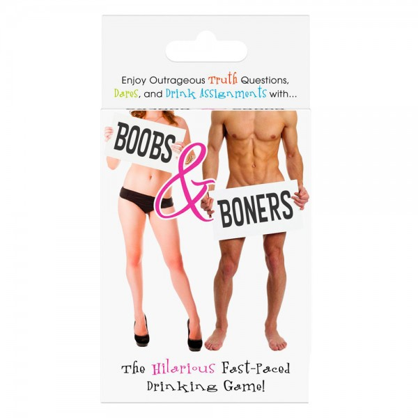 Boobs And Boners Drinking Card Game