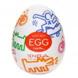 Tenga<br /> Egg Masturbator<br /> Keith Haring Street<br />