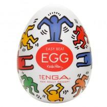 Tenga Egg Masturbator Keith Haring Dance