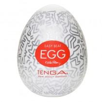 Tenga Egg Masturbator Keith Haring Party