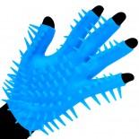Neon Blue<br /> Luv Glove<br /> Masturbator