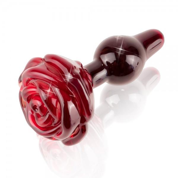Icicles No.76 Glass Rose Butt Plug