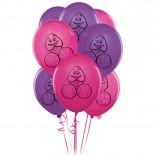 8 Pecker Party<br /> Balloons