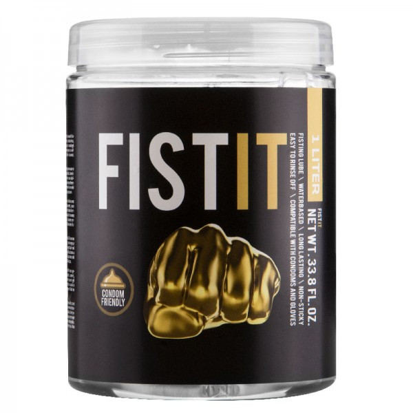 Fist It Water Based Lubricant 1 Ltr