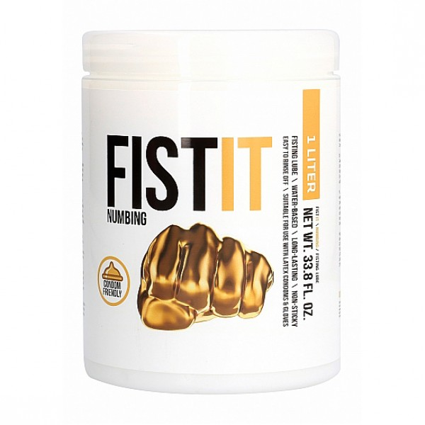 Fist It Numbing  - 1 Ltr Anal Lubricant
