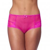 Elegant Pink Open Back Briefs