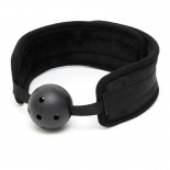 Black Padded Mouth Gag<br />