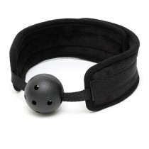 Black Padded Mouth Gag