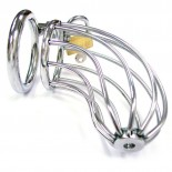 Stainless Steel<br /> Chasity Cock Cage
