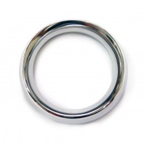 Stainless Steel Doughunt Cock Ring 45mm