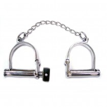 Rouge Garments Wrist Shackles Stainless Steel