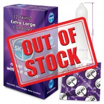 Skins Condoms Extra Large 12 Pack