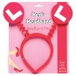 Hens L Plates<br /> Headband