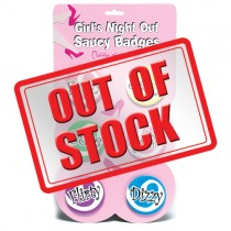 Girls Night Out Saucy Badges