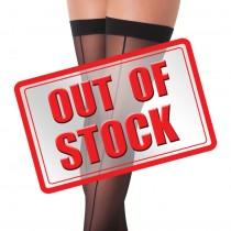 Rimba Sexy Stockings with Seem Black
